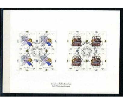 ALMANYA 1999 HATIRA KART CHRISTMAS DBL (060915)