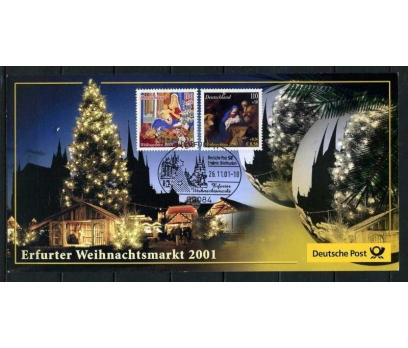 ALMANYA 2001 HATIRA KART CHRISTMAS SÜPER (050915)