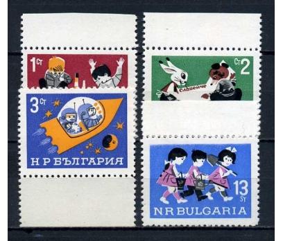 BULGARİSTAN ** 1966 DÜNYA ÇOCUKLARI TAM S.(070915)
