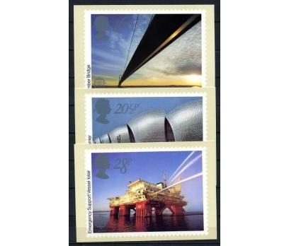 İNGİLTERE 1983 PUL KP EUROPA CEPT 3 ADET (060915)