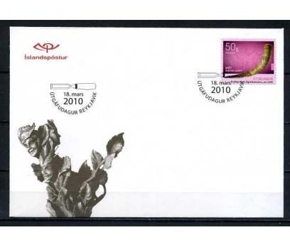 İZLANDA 2010 FDC EL SANATLARI SÜPER (080915)