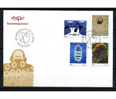 İZLANDA 2010 FDC GÖRSEL SANATLAR SÜPER (080915)