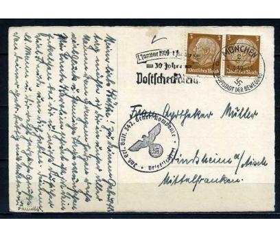 REİCH 1939 POST.G.HATIRA KART ÇİÇEK SÜPER (040915)