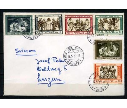 VATİKAN 1961 PGZ TAM SERİ PULLA SÜPER (030915)