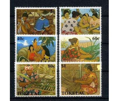TOKELAU ** 1990 GELENEKSEL EL SANATLARI (210915)