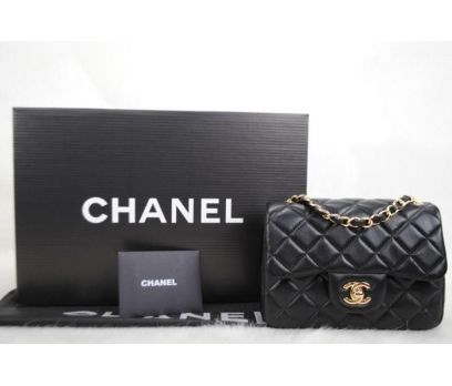 CHANEL JUMBO FLAP BAG 1,55 MİNİ BOY %100 DERİ