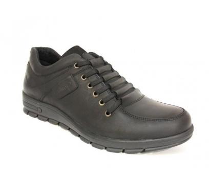 Dropland 3330 Siyah Bağcıklı Casual Ayakkabı