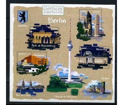FRANSA ** 2005 AVR.BAŞKENTLERİ : BERLİN BLOK (005)