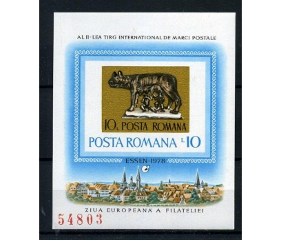 ROMANYA ** 1978 AVRUPA KONF.DANTELSİZ BLOK(005)
