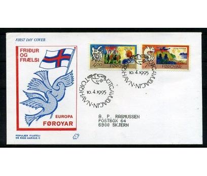 FAROE AD. 1995 FDC EUROPA CEPT SÜPER (008)