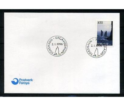 FAROE AD. 1995 FDC MANZARA SÜPER (008)