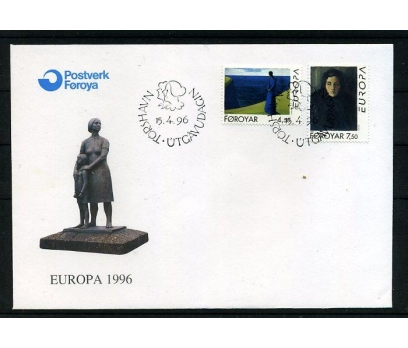 FAROE AD. 1996 FDC EUROPA CEPT SÜPER (008)