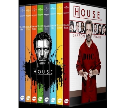 House M.D. Collection (Seasons 1-8)