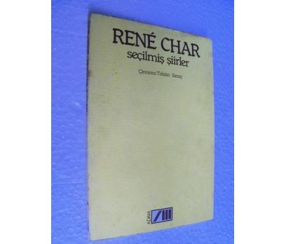 RENE CHAR - SEÇİLMİŞ ŞİİRLER - ADAM YAY. 1.basım