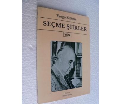 SEÇME ŞİİRLER - YORGO SEFERIS - YÖN YAY.