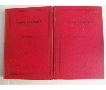 ANNA KARENİNA Leo Tolstoy AK KİTABEVİ YAY.