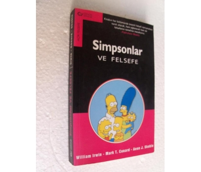 SIMPSONLAR VE FELSEFE - WILLIAM IRWIN
