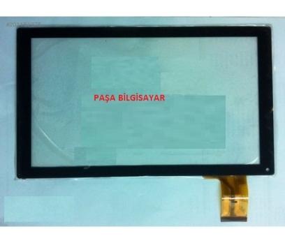 YJ144FPC-V1 Dokunmatik Tablet Camı Siyah Dokunmatik