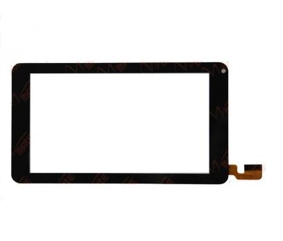 CZY6473C02-FPC Dokunmatik Tablet Camı Siyah Tablet Dış Camı