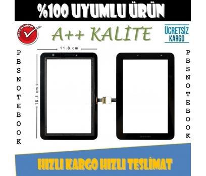 Samsung Galaxy GT-P3100 Dokunmatik Tablet Camı Siyah Dış Cam
