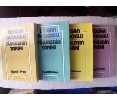 TÜRKLERİN TARİHİ - DOĞAN AVCIOĞLU - 2,3,4,5. cilt