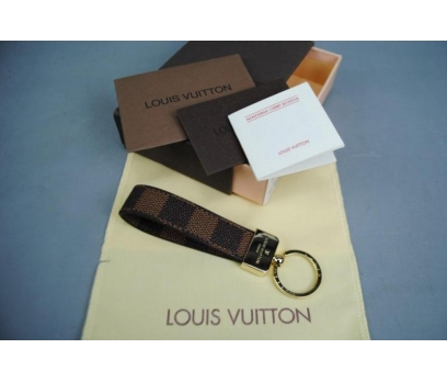 LOUİS VUİTTON DAMİER CANVAS KEY HOLDER