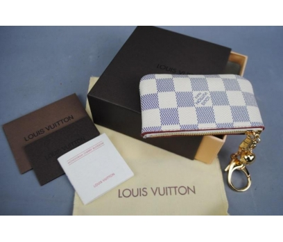 LOUİS VUİTTON AZUR KEY POUCH ANAHTARLIK