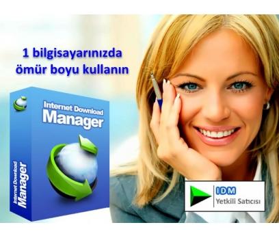 İnternet Download Manager Ömür Boyu Lisansı 1 PC