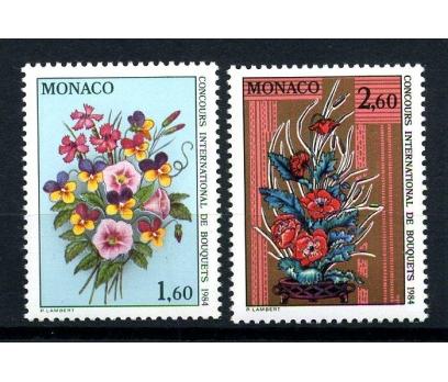 MONAKO ** 1983 ÇİÇEK YARIŞMASI TAM SERİ(160103)