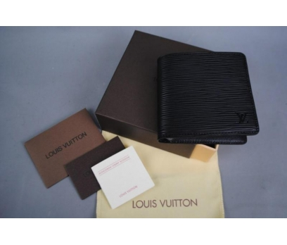 LOUIS VUITTON EPİ WALLET HAKIKI DERI