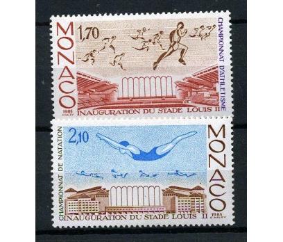 MONAKO ** 1985 ATLETİZM & YÜZME TAM SERİ (170102)