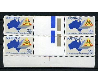 AVUSTRALYA ** 1981 APEX 50.YIL DBL TAM SERİ (AV-3) 1