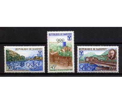 DAHOMEY ** 1967 GRENOBLE 68  KIŞ OY.TAM S(160110)