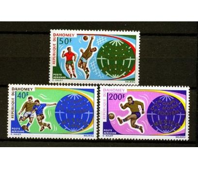 DAHOMEY ** 1970 FUTBOL & MEKSİKA 70 D.K.(160109)