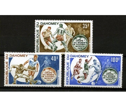 DAHOMEY ** 1974 FUTBOL & ALMANYA 74 D.K.(160109)
