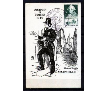 FRANSA KM 1949 FR.PUL 100.YIL SERGİ KARTM.(170110)