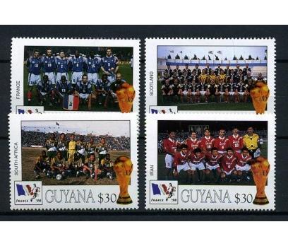 GUYANA ** 1998 FUTBOL 4 ÜLKE SÜPER (170103)