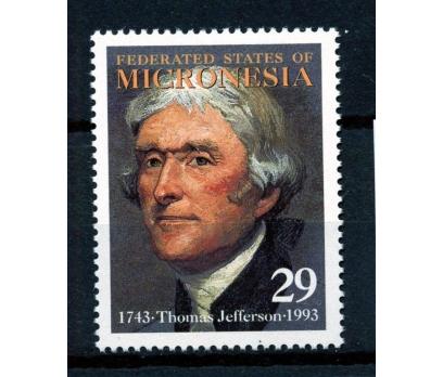 MİKRONEZYA ** 1993 ABD 3.BŞK.T.JEFFERSON (170110)