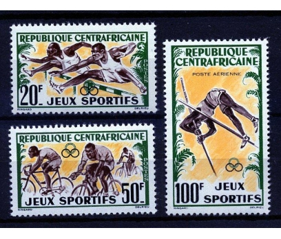 S.AFRİKA ** 1962 AFRİKA SPOR OYUNLARI TAM (160109)