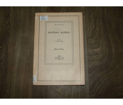 BUĞDAY KURDU PLAUTUS DEVLET KİTAPLARI- 1964