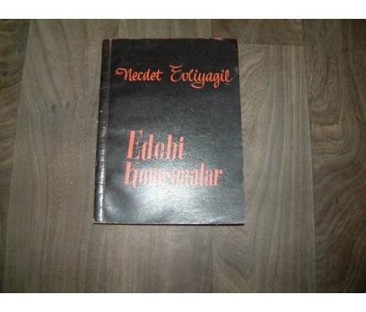 EDEBİ KONUŞMALAR NECDET EVLİYAGİL - 1959