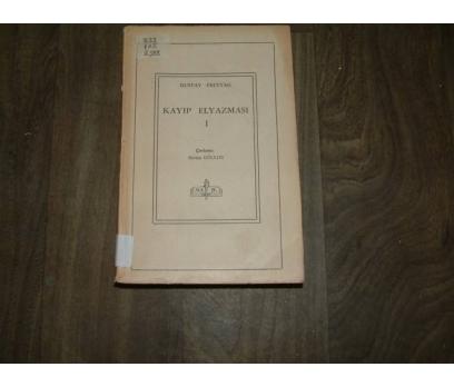 KAYIP EL YAZMASI 1  GUSTAV FREYTAG DEVLET - 1950