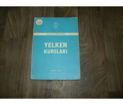 YELKEN KURSLARI HİLMİ RIFAT - 1977