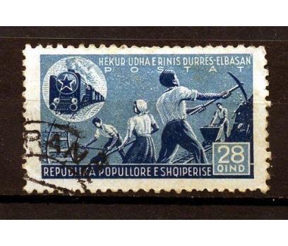 ARNAVUTLUK DAMGALI 1947 DEMİRYOLU İNŞ.1 VAL.(K007)