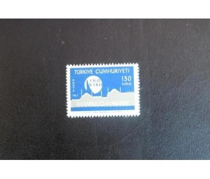 1967 ULUS. BARAJLAR 9. KONGRESİ TAM SERİ (MNH)