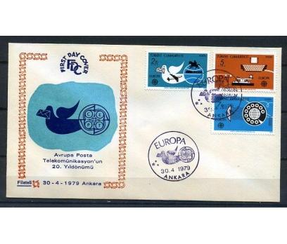 CUMH.FDC 1979 EUROPA CEPT FİLATELİ SÜPER (K013)