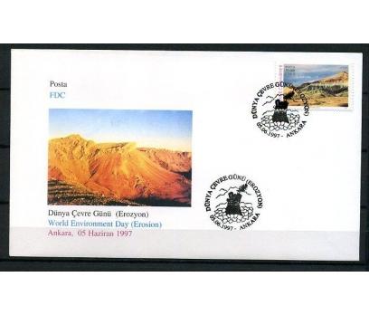 CUMH.FDC 1997 EROZYON SÜPER (K013)