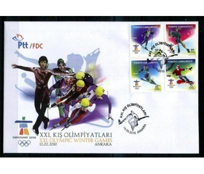 CUMH.FDC 2010 KIŞ OLİMPİYATLARI SÜPER (K014)