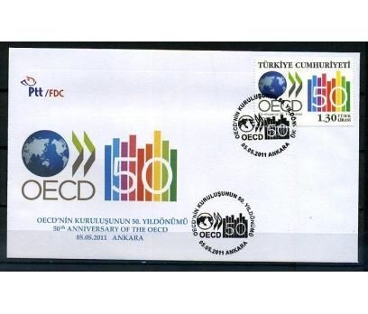 CUMH.FDC 2011 OECD'NİN KUR. 50.YILI SÜPER  (K014)