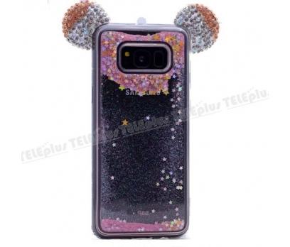 Samsung Galaxy S8 Mickey Silikon Kılıf Siyah